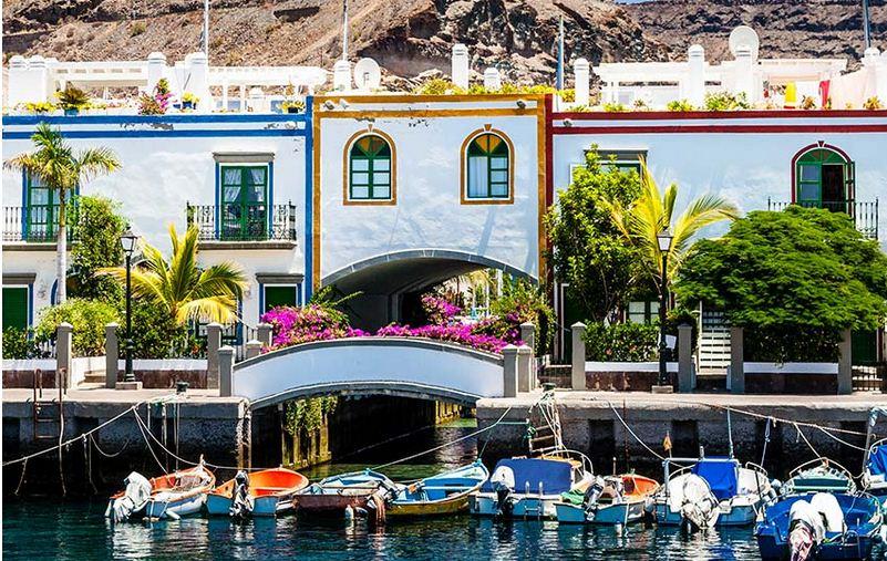 Puertos tranquilos de encantos en Canarias