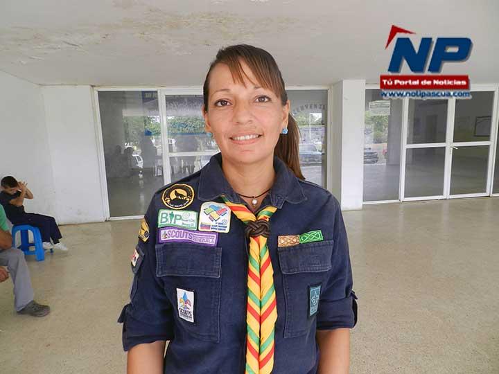 Yesenia Marquez, dio la información sobre la actividad.