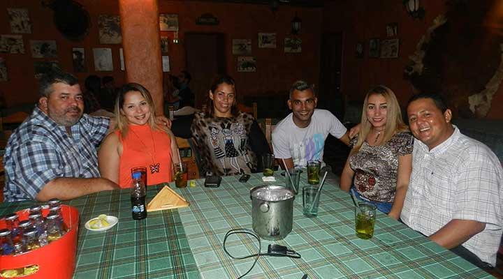 Rumberos presentes en la Tasca Restaurant San Marco - Stratus