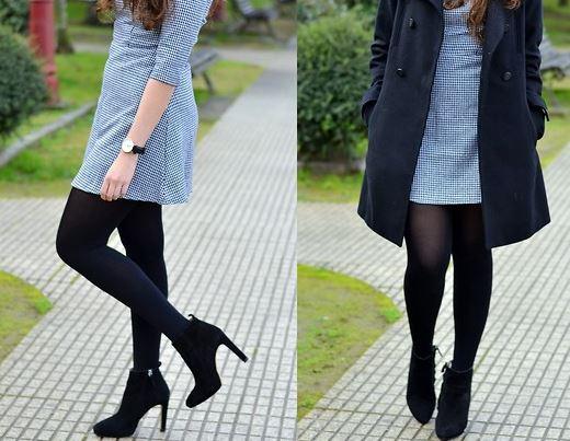 Vestidos y Calcetines fusionados