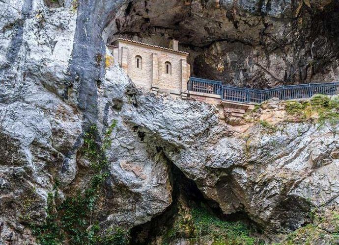 La Cueva de Santina, en Asturias.