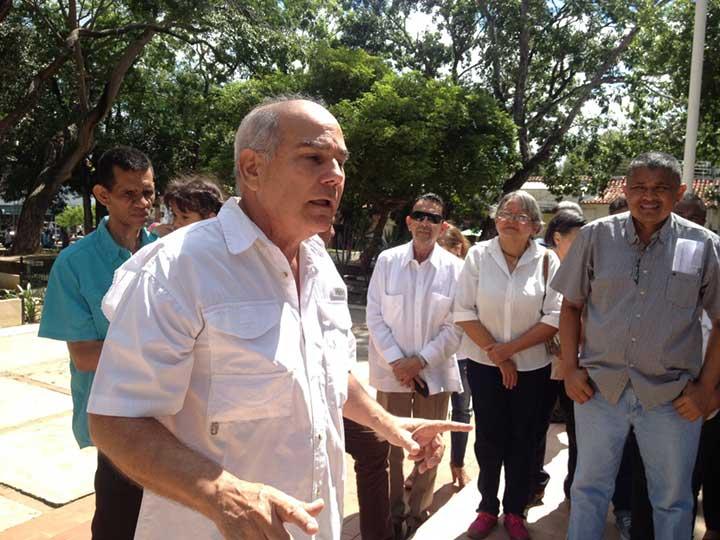 Manuel Matos Charmelo dijo que necesrio es reorganizar el partido AD