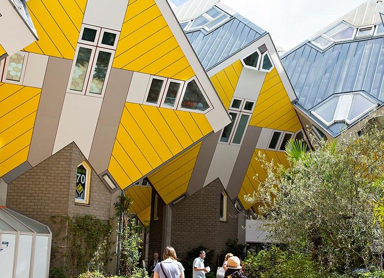 Roterdam, ciudad arquitectonica holandesa
