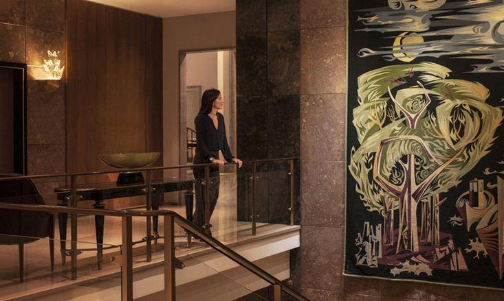 Sus paredes guardan hermosas colecciones de arte