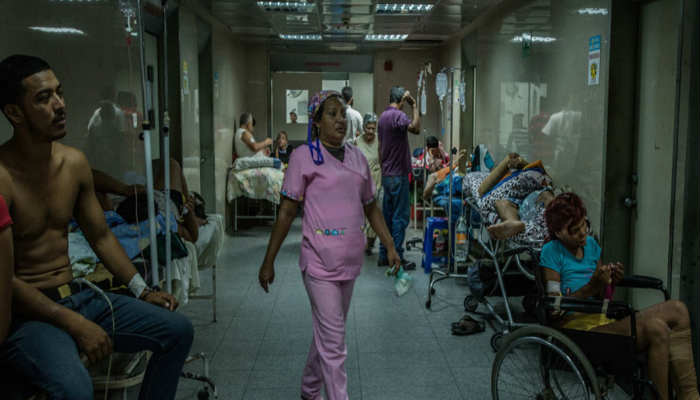 Hay que atacar la la falta de higiene dentro de los centros de salud y la grave falta de medicamentos