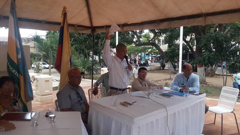 Rene Correa solicito la aprobación de los diferentes puntos en conclusión que arrojó el cabildo abierto.