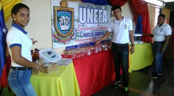 Unefa Guárico recibió dotación de equipos para laboratorios.