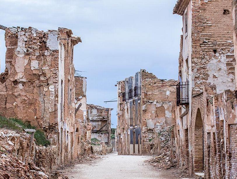 Belchite un pueblo fantasma