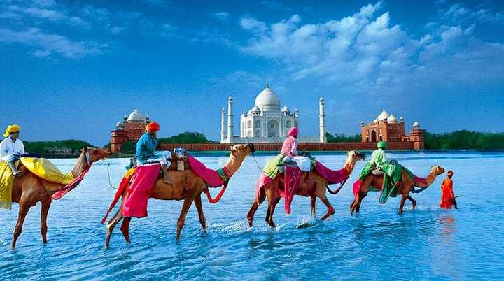 Agra(India) una de las cinco propuestas del lejano oriente.