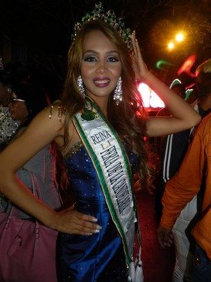 Reina de la 51 feria de la Candelaria Saulymar Torrealba