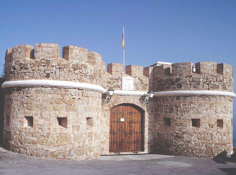 Castillo del Desnarigado en Ceuta.