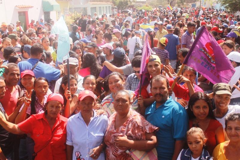 Diferentes movimientos sociales dijeron presente durante la marcha y concierto por la paz en Infante. Foto: Prensa Alcaldia