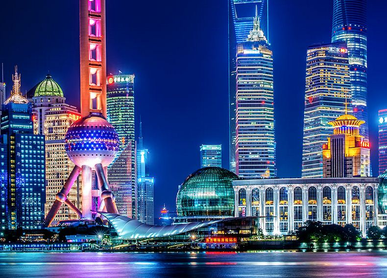 Shangai, ciudad economica