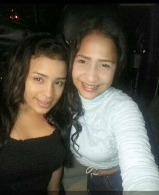 A la derecha Aristimuño Vásquez Greymar de los Ángeles de 21 años y a la izquierda Verónica Isabel Vargas Guarema de 20 años ambas asesinadas en Zaraza. Foto Cortesía