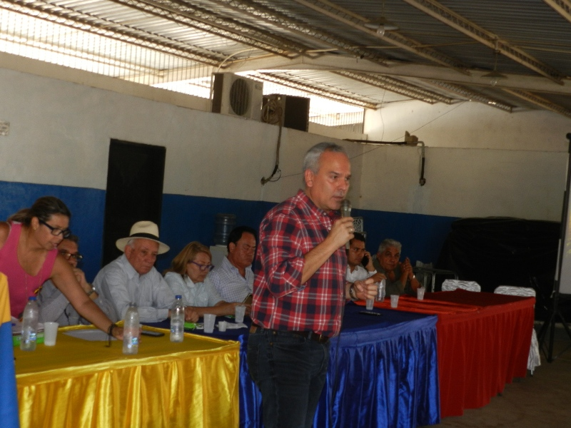 Aquiles Hopkins, coordinador tecnico del Plan Pais Agroalimentario
