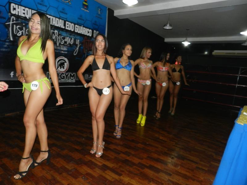 Las chicas se mostraron en wellness y bikini fitness.