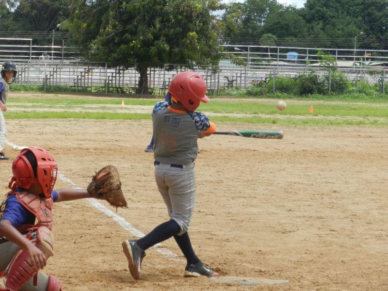 Bateadores de Roscio amenazaron en el último inning con una carrera producida.