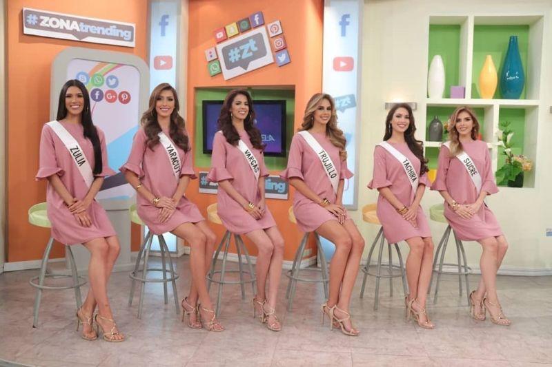 Candidatas Miss Venezuela