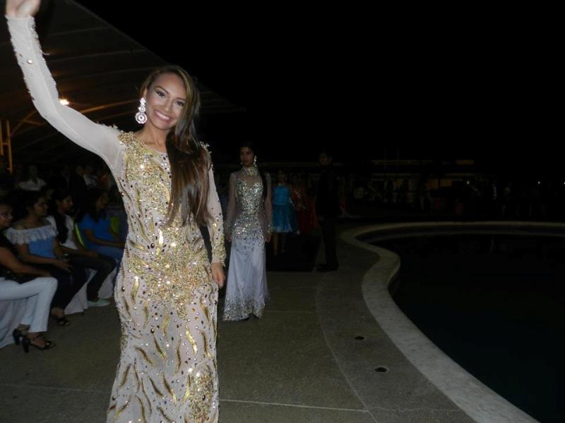 Daymar Martínez, presidenta del Miss Intercontinental Guárico 2019