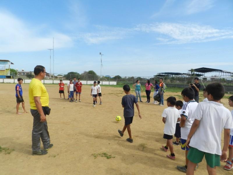 Vamos con el desarrollo masificación y fortalecimiento del fútbol campo en nuestro país señaló José Gregorio González de Venezuela Sport.