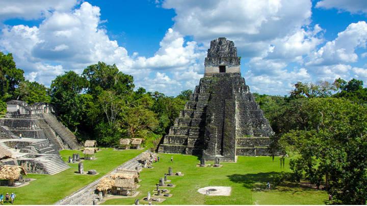 Tikal, patrimonio de la humanidad.