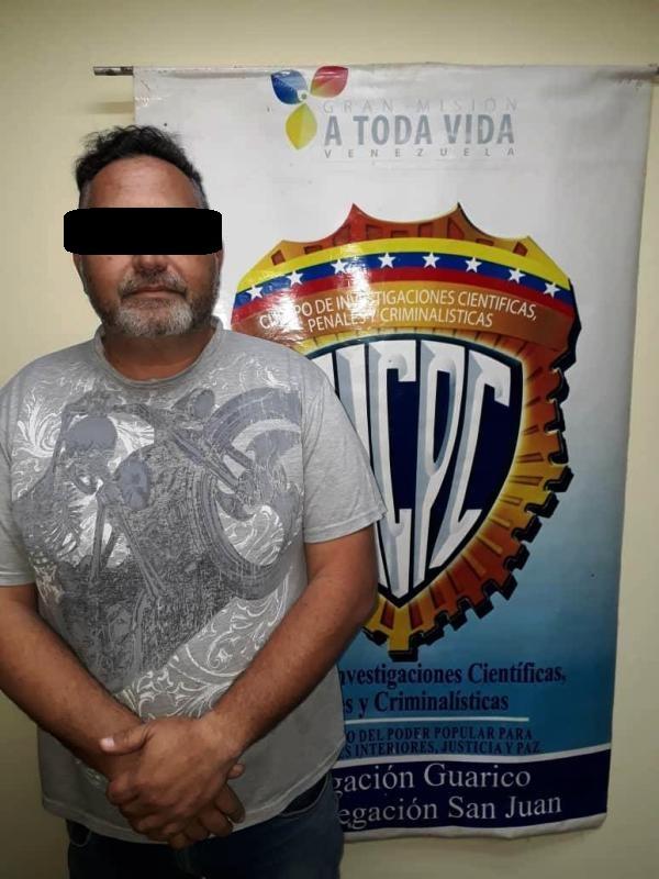 El comunicador Wilmer Quintana fue capturado por una comisión del Cicpc.