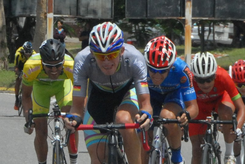 Ángel Rivas conquistó la etapa ciclística.