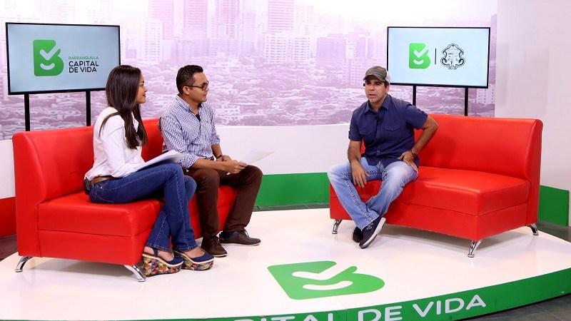 Alcalde Char, invitado especial al primer capítulo del programa Barranquilla Capital de Vida en 2017