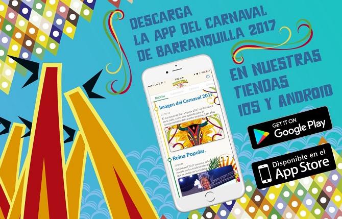 Toda la música del Carnaval de Barranquilla en su App para móviles