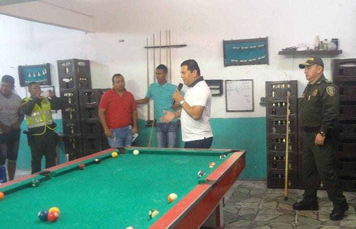 """Alcalde, Efraín  Bello lideró """"caravana de seguridad"""" en Malambo"""