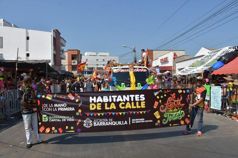 """Y """"Pa'la calle"""" nos fuimos, el domingo de Carnaval"""