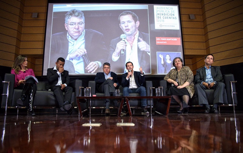 """""""En el 2016 duplicamos el número de obras entregadas en el Fondo Adaptación"""", Iván Mustafá"""