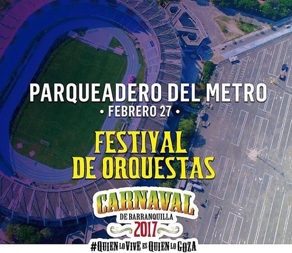 El Parqueadero del Metropolitano abre sus puertas al Festival de Orquestas 2017