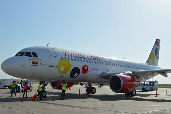 El Aeropuerto Ernesto Cortissoz aumentó un 6% el número de pasajeros movilizados con la llegada de Viva Air