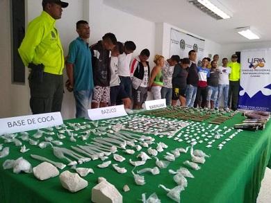 Policía desarticulo la banda 'Los Pecosos'