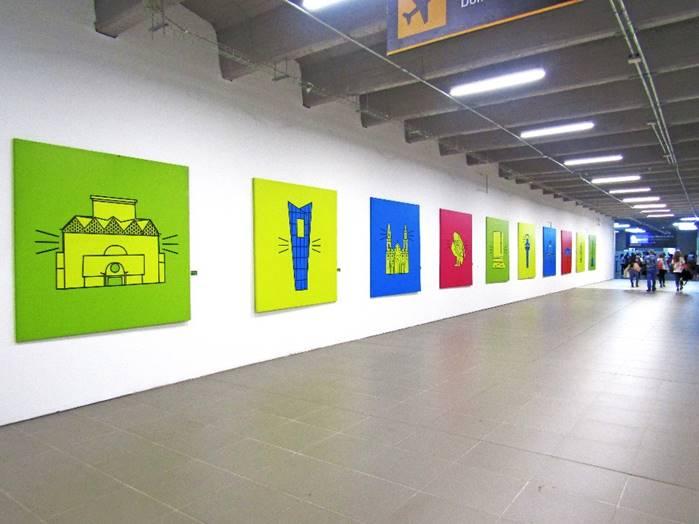 El Aeropuerto Ernesto Cortissoz exhibe 'Quillarama, una Ciudad Bacana'