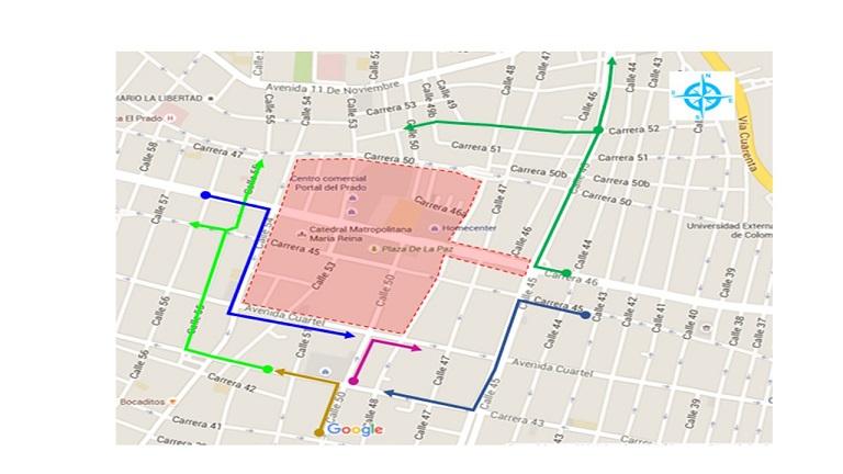 Este sábado cierre de vías por Lectura del Bando del  Carnaval 2020