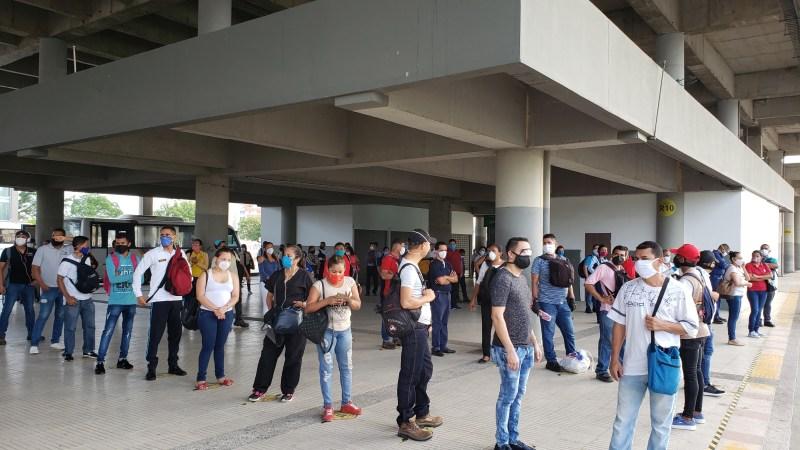 Nuevo récord de usuarios movilizados por Transmetro en la cuarentena