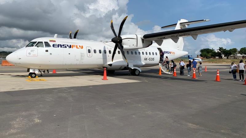 Easyfly, una apuesta por vuelos libres de coronavirus sin sillas vacías