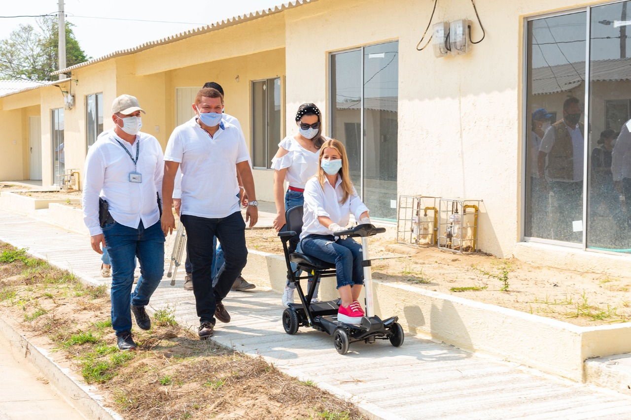 Gobernación del Atlántico inicia la entrega de 200 viviendas gratis en Santo Tomás