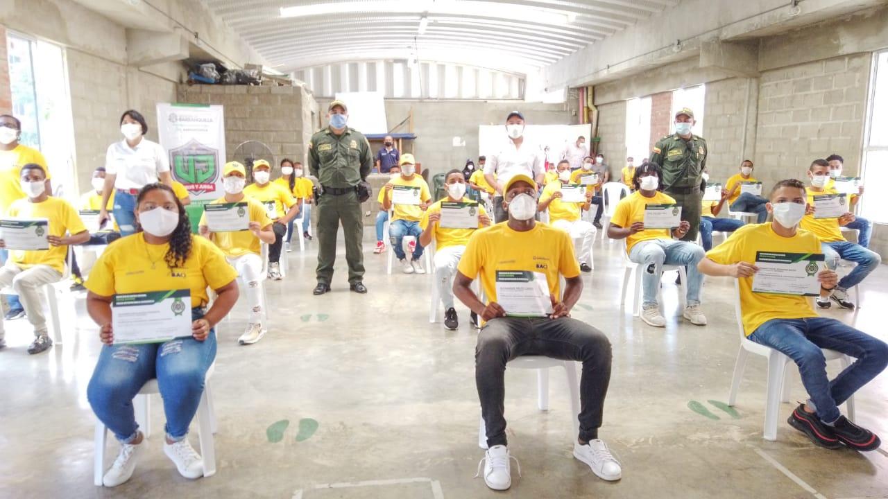 En barrios de Barranquilla crece el número de jóvenes comprometidos con la sana convivencia