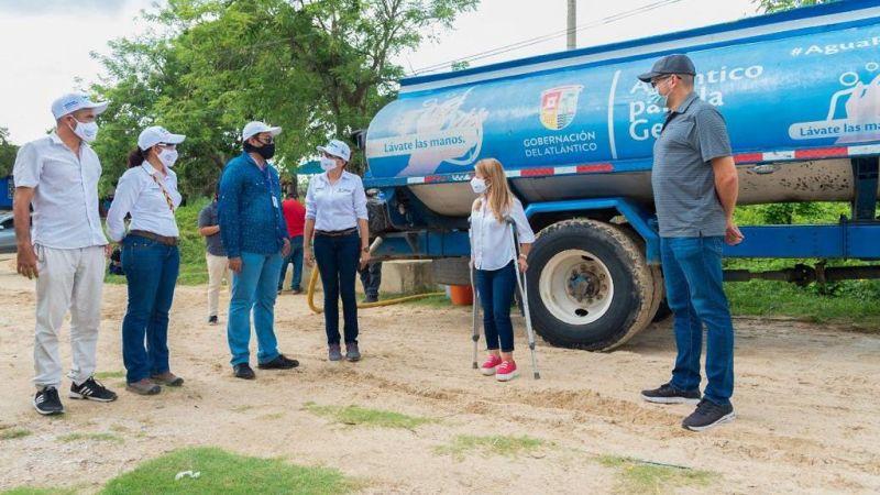 'La Ruta del Agua' reanudó operación en 60 comunidades del Atlántico