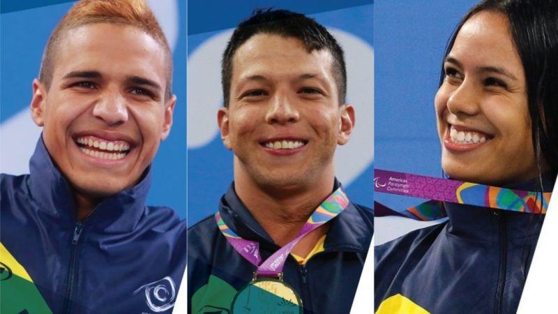 Tres medallas para Colombia en el primer día de la Serie Mundial de Para Natación en Italia
