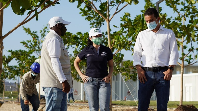 501 árboles para la sede de la Federación Colombiana de Fútbol