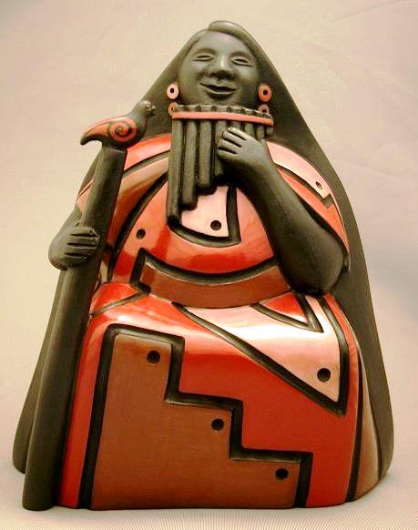 Kusiñawi, ceramista alfarero