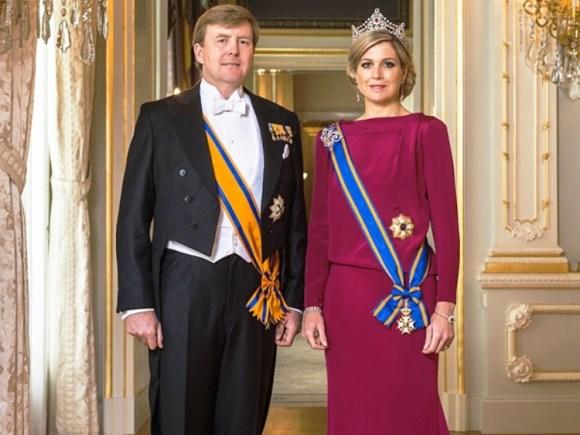 Guillermo Alejandro y Máxima, reyes de Holanda