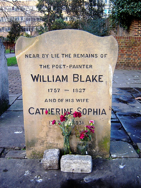 Monumento para William Blake y su esposa
