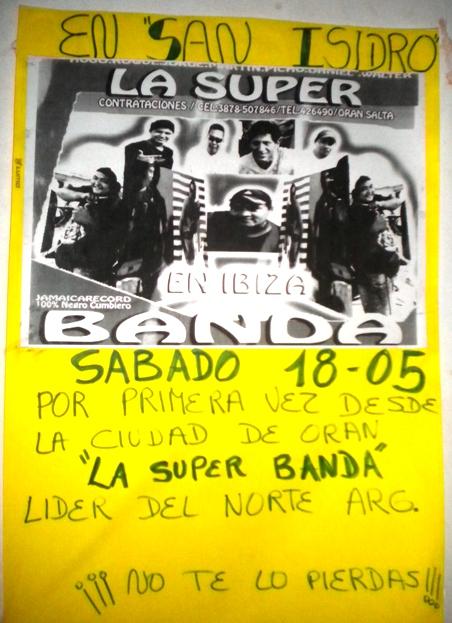 """La """"Súper Banda"""" por primera vez en la zona"""