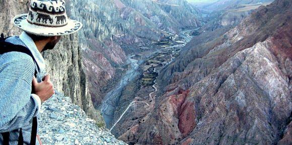 Una vista de Iruya, volviendo desde Panti Pampa. (Foto: Iván Wasinger)