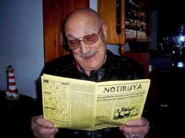 Pocho, de Lobos (Buenos Aires), lee NOTIRUYA